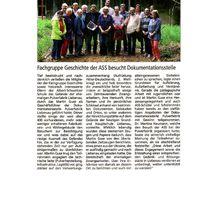 Harke 13.7.12 -- ASS-LehrerInnen besuchten ehem. EIBIA-Pulverfabrik Liebenau