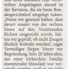 Harke 18.8.14 -- Weyhe/ Verden: wurde Richter von Nazis bedroht?