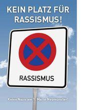 Kein Platz für Rassismus!