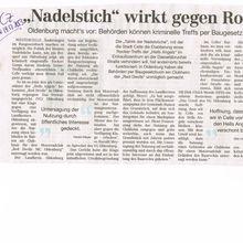 Cellesche Zeitung 19.12.13 -- Oldenburg stoppt Red Devils-Treff per Baugesetz