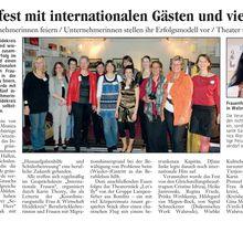 Walsroder Zeitung 12.3.12 -- Frauenfest: wird als Ziel berufliche Selbständigkeit gefeiert?
