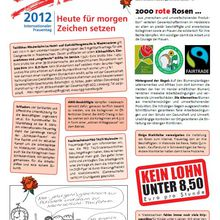 Internationaler Frauentag 2012 DGB-Flyer Heidekreis