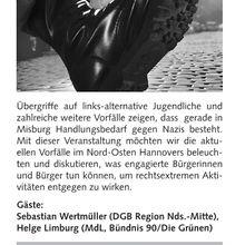 Bürgerhaus Misburg - Rechtsextremen Aktivitäten entgegentreten | 26.11.2009 19:30