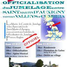 2007 19-24 Oct - Venue des Western Valleys of Cumbria et Officialisation