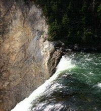 Chute d'eau en cascade