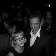 La Journaliste, Vincent Cassel et Yves Saint Laurent