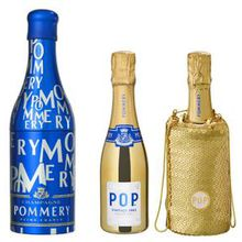 Alcools de luxe : vodka, Champagne et whisky en habits de fête