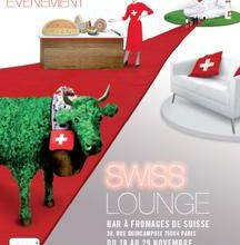 Swiss Lounge : du 18 au 29 novembre, open bar…à fromages