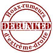 Debunkers des rumeurs / hoax d'extrême droite