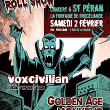 affiche concert Golden Age of Monkeys