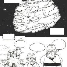 Bubblegôm Gôm le manga : première page du quatrième chapitre !!