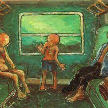 Le voyage en train