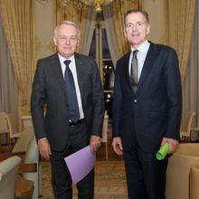Le Premier ministre a reçu François Zocchetto, président du groupe UDI au Sénat, vendredi 8 février à l'hôtel de Matignon.