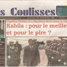 """Le journaliste congolais Nicaise Kibel'Bel Oka reçoit le prix de """"la liberté de la presse en Afrique"""""""