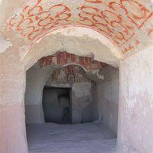 Eglises rupestres en Cappadoce : vallées rouge et rose