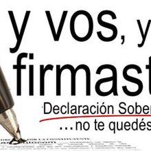 Honduras: Sólo 120 días tomó al FNRP sobrepasar UN MILLÓN de firmas de declaración soberana para asamblea constituyente