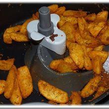 Potatoes à l'Actifry et ses petites sauces