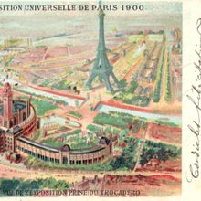 Paris Exposition Universelle 1900.