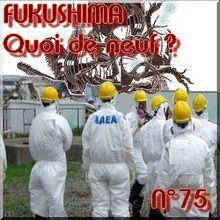 FUKUSHIMA - 8 juin 2011 - Quoi de neuf N°75 - Dernières actualités du nucléaire et énergies durables - NATURE(S)