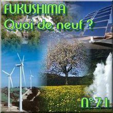 FUKUSHIMA - 3 Juin 2011 - Quoi de neuf N°71 - Dernières nouvelles - NATURE(S)