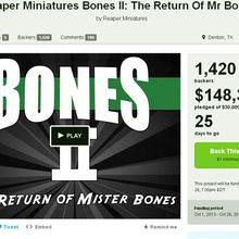 Le retour du fils de la vengeance du Kickstarter Reaper…