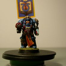 40K and Co: Archiviste Ultra en armure Termi