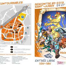 Rencontres Bd Saint-Junien 2013 affiche Patrick Sobral