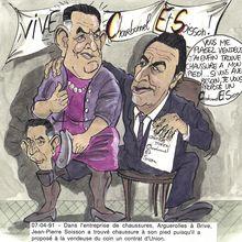 7 avril 91 Contrat d'Union entre Soisson et Jean Charbonnel