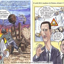 Massacres au gaz sarin en Syrie août 2013