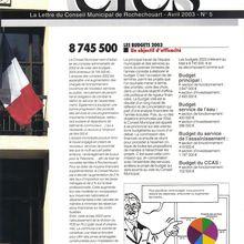 Clés n°5 Rochechouart avril 2003 P.1