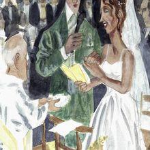 à la manière d' Amedeo Modigliani