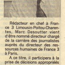 article Marc Desoutter