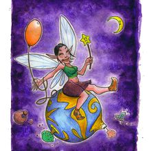 L'illustration du jour - Happy Fairy