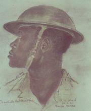 Portraits de tirailleur prisonnier