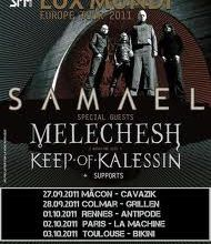Live-report: Samael + Keep of Kalessin + Melechesh + Guests