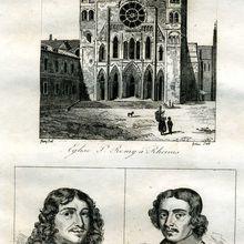 """Gravure originale de 1835 tirée de l'ouvrage , """"La France pittoresque d'Abel Hugo""""."""