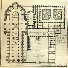 Plans de la Cathédrale et de l'Archevéché