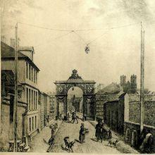 Entrée de Reims par la porte de Vesle.