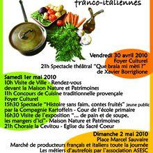Les rencontres du goût ,Castellane les 30 avril, 1er et 2 mai