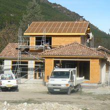 Maison passive , une première a St Andre les Alpes