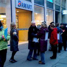 Soutien aux salariés des magasins DAMART qui ont décidé de se faire entendre !