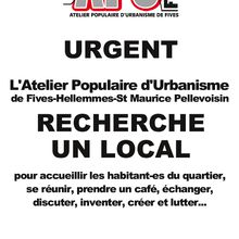 On recherche un local !
