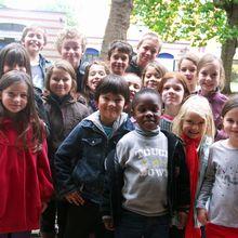 les délégués élèves au conseil d'enfants