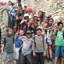en direct d'Aiguèze, village médiéval