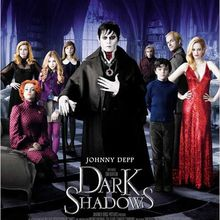 Critique Ciné : Dark Shadows, le vampire version hippie...