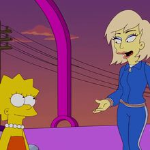 The Simpsons Goes Gaga…
