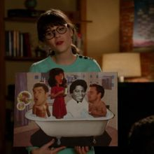 Critiques Séries : New Girl. Saison 2. Episode 10. Bathtub.