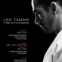 Léo Tamaki à Gaillac, 27 au 29 septembre