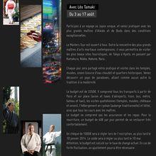 """Masters Tour """"Natsu 2014"""", du 3 au 17 août, à la rencontre des légendes du Budo"""
