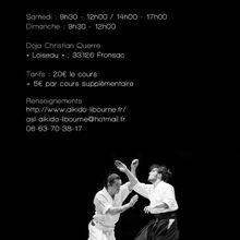 Léo Tamaki à Libourne, 10 et 11 mai